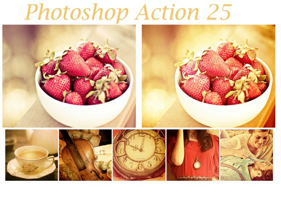 Photoshop Actions 25