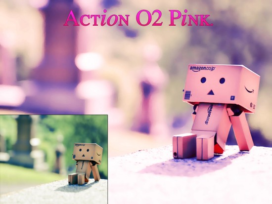 Actions 02 Pink