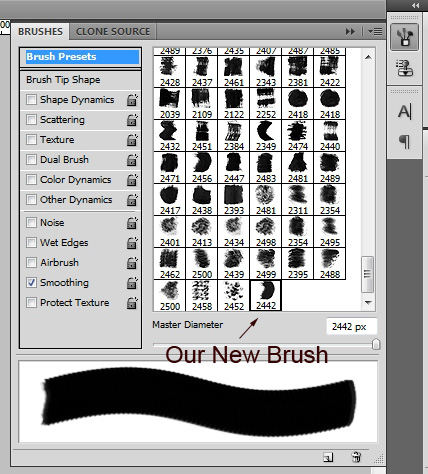 Tutorial: How to Make a Photoshop Brush Set