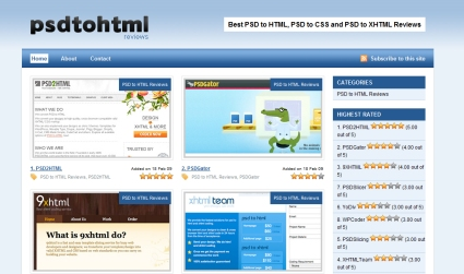 PSD to HTML Reviews