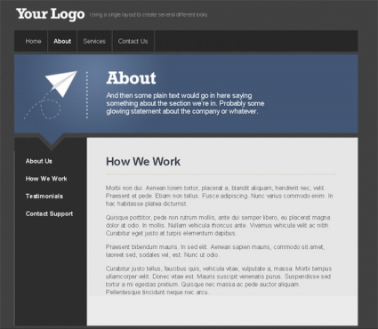 Converting a Design from PSD to HTML