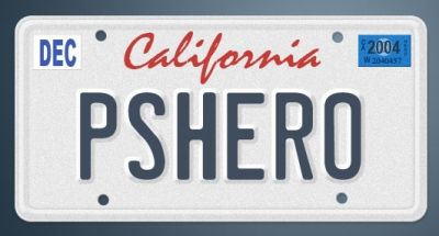 Illustrate a License Plate