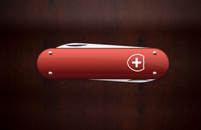 Draw a Swiss Army Knife
