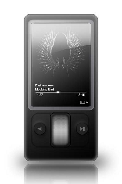 Darw an MP3 Player