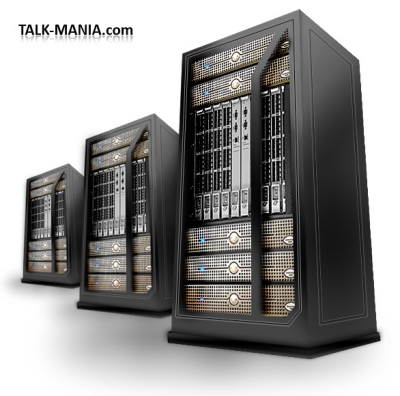 3D Rack Server