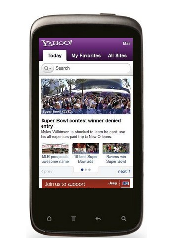 Yahoo! Mobile
