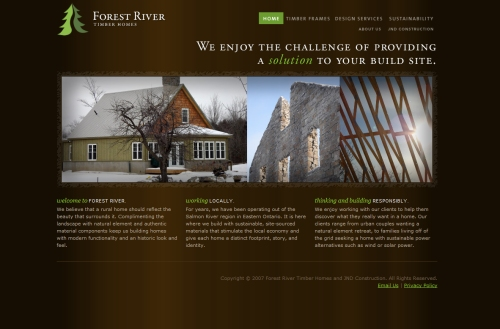 Forest River Timber Homes