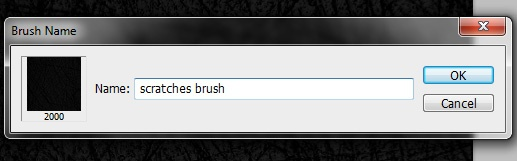 How to Create a Scratches Photoshop Brush