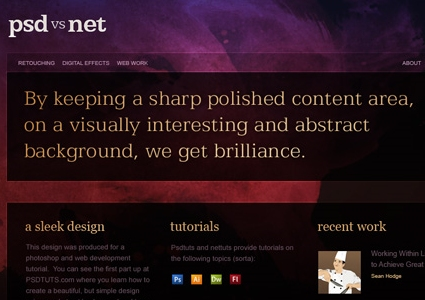 Create a Sleek, High-End Web Design from Scratch