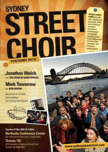 Street Choir Poster