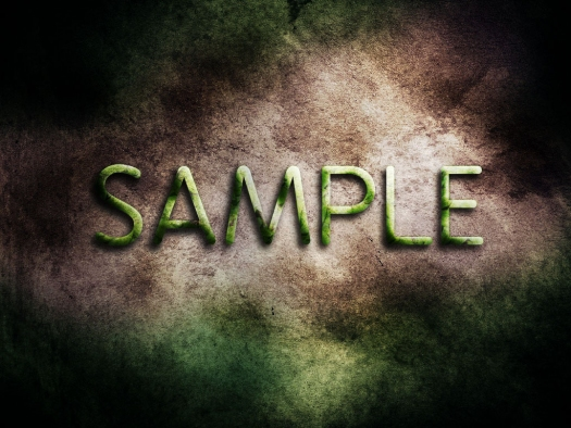 Design a Smooth and Fresh Text Effect with Leaves and Stone Texture in Photoshop