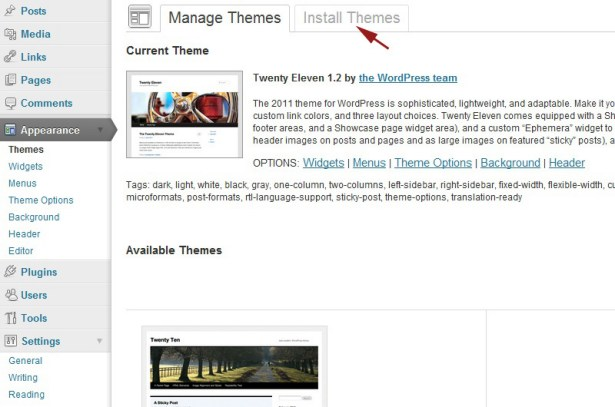 Theme Documentation: Uploading and Activating the Theme