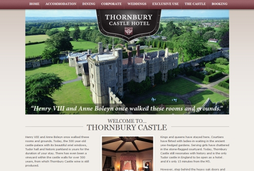 Thornbury Castle Hotel