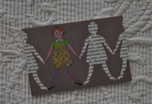 Paper Doll Business Card