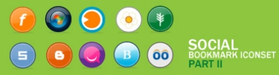 Social Bookmark Icons #2