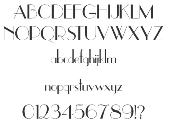 Old Fashioned Film Font