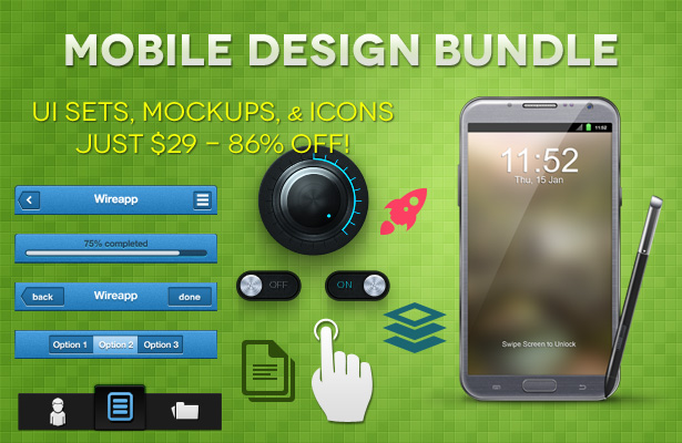 Mobile Design Bundle