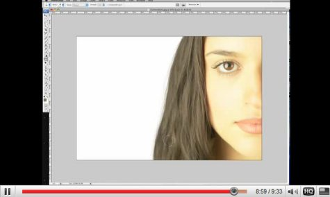 Photoshop - Extract and Hair Tutorial