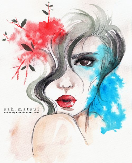 Watercolor Design Inspiration