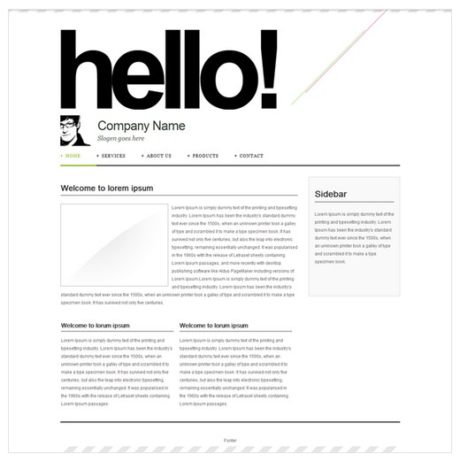 Zoho Sites Template