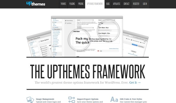 UpThemes Framework