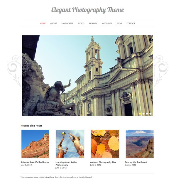 Elegant Photography Theme