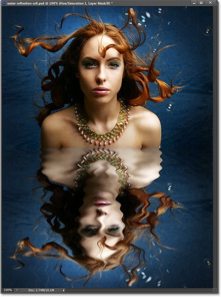 Water Reflection Effect in Photoshop CS6
