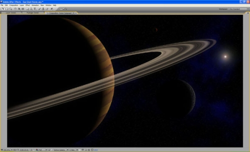 Create a Gas Giant Planet Scene in After Effects