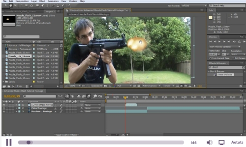 Simulate an Advanced Muzzle Flash