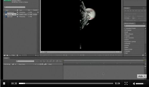 Shattering Glass with Adobe After Effects