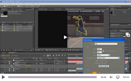 Learn How to Create an Advanced Jumper Effect