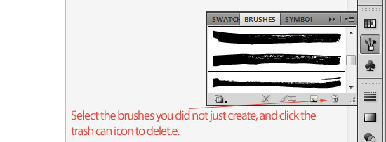 How to Create a Set of Marker Brushes for Illustrator