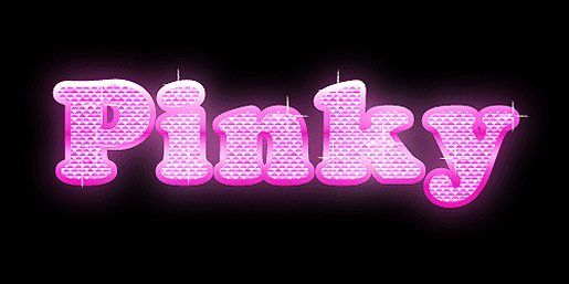 Bling Bling Text Effect
