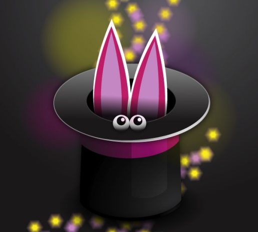 Abracadabra, How to Create a Magic Hat Icon