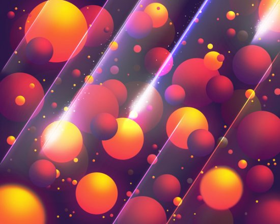 Create Abstract Colorful Balls Illustration in Photoshop