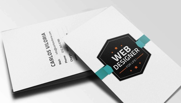 Retro Business Card PSD