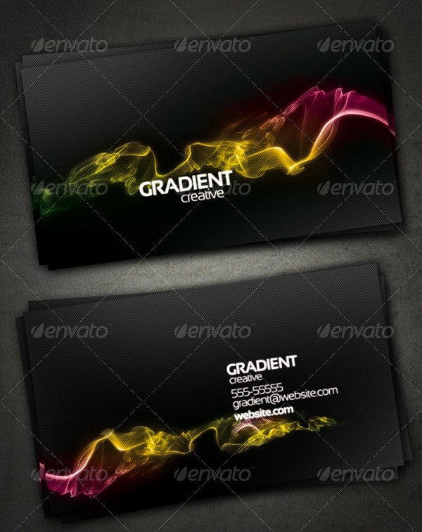 Gradient Creative Card