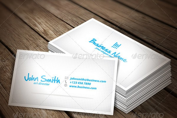 Clean Corporate & Photographer Business Card