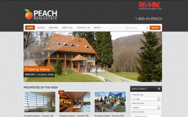 Peach Real Estate
