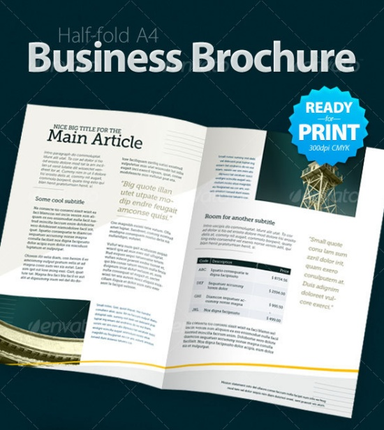 Business Brochure (4 Pages)