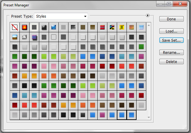 Create Re-Usable Button Styles in Photoshop