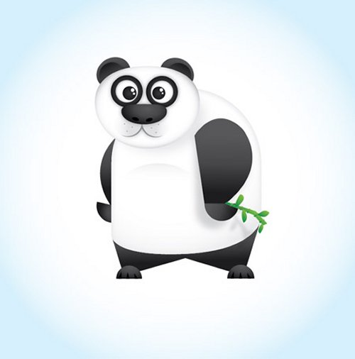 Create a Cool Vector Panda Character in Illustrator