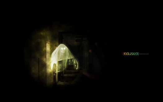 Creepy Ghost in Photoshop and Cinema 4D