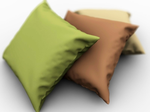 Modelling and Rendering a Pillow in C4D