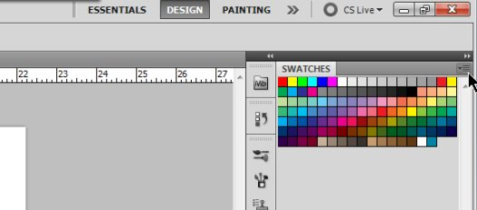 Working with Swatches in Photoshop