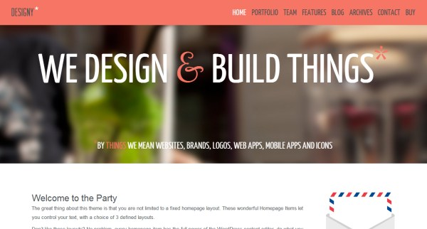 25 WordPress Themes with a Flat Design Style
