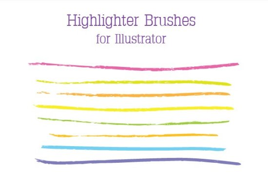 Highlighter Brushes
