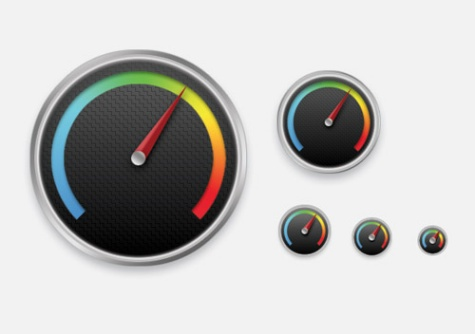 How to Create a Detailed Gauge Icon in Photoshop
