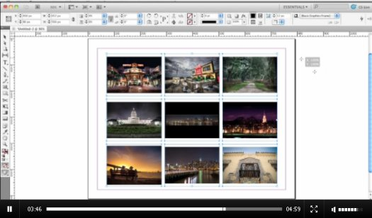 Placing Images in InDesign CS5