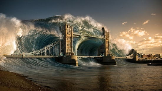 Creating a Devastating Tidal Wave in Photoshop